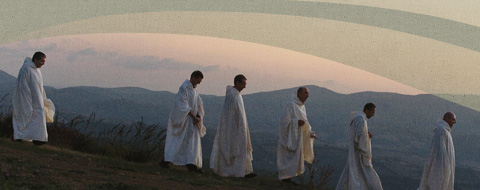 I frati della comunità monastica di Siloe